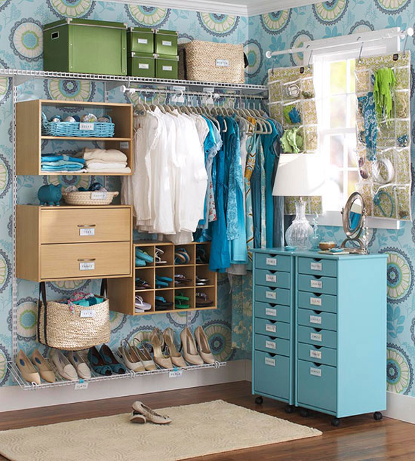 Cách lưu trữ thông minh cho phòng thay đồ