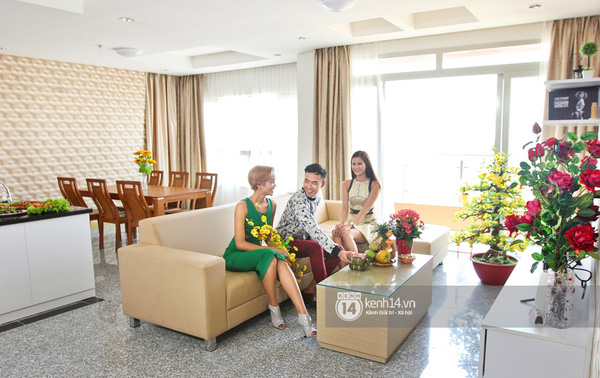 Hương Ly khoe căn hộ mới - giải thưởng cho Quán quân Next Top Model - Ảnh 5.