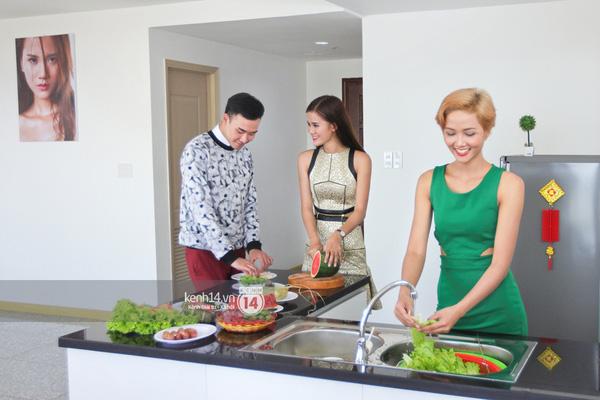 Hương Ly khoe căn hộ mới - giải thưởng cho Quán quân Next Top Model - Ảnh 6.