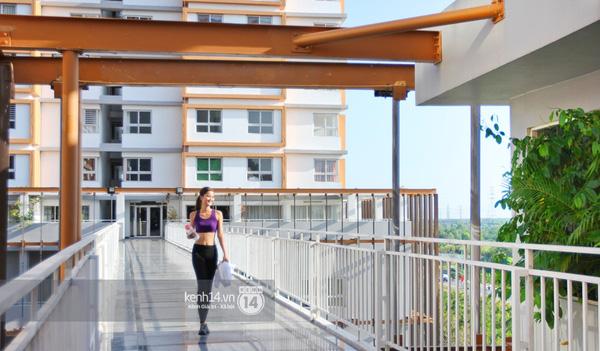 Hương Ly khoe căn hộ mới - giải thưởng cho Quán quân Next Top Model - Ảnh 14.