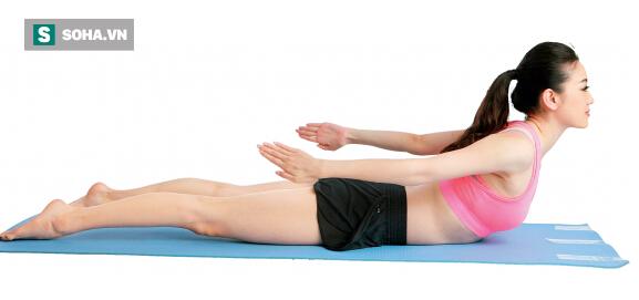 Đau lưng, thoát vị đĩa đệm, bệnh về lưng đừng bỏ qua động tác này - Ảnh 5.