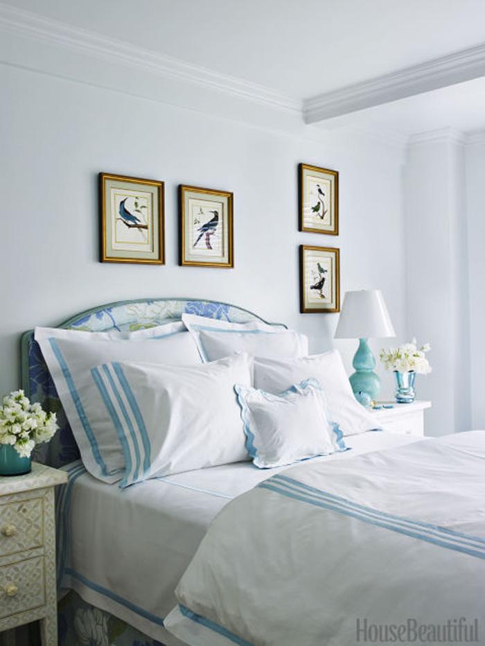 Phòng ngủ màu trắng - lựa chọn hàng đầu nếu bạn muốn có một không gian nghỉ ngơi thật thư giãn