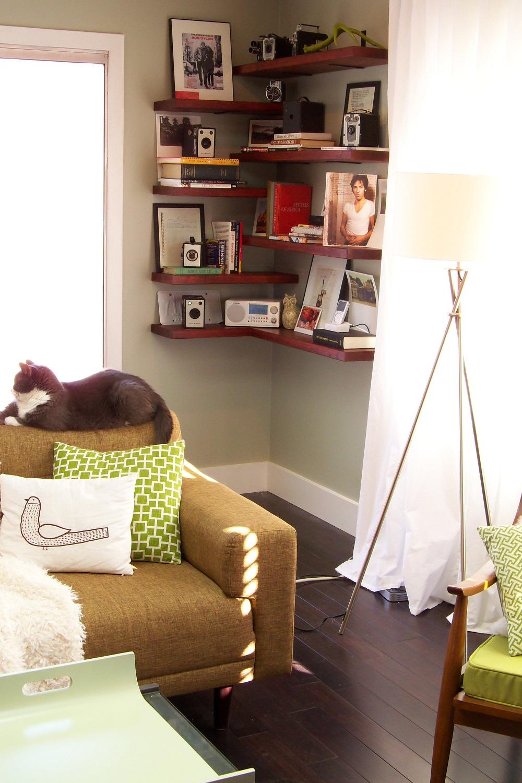 Chọn kệ ưng ý để phòng khách thêm hoàn hảo