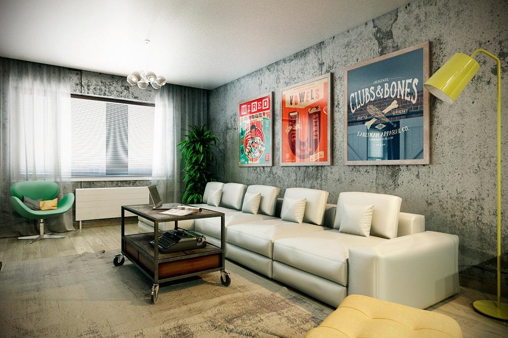 """Những xu hướng trang trí tường phòng khách """"hot"""" nhất trong năm nay"""