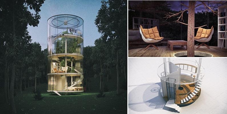 Vẻ đẹp ngất ngây của ngôi nhà có giá 7,5 tỷ đồng ôm trọn cây xanh giữa rừng