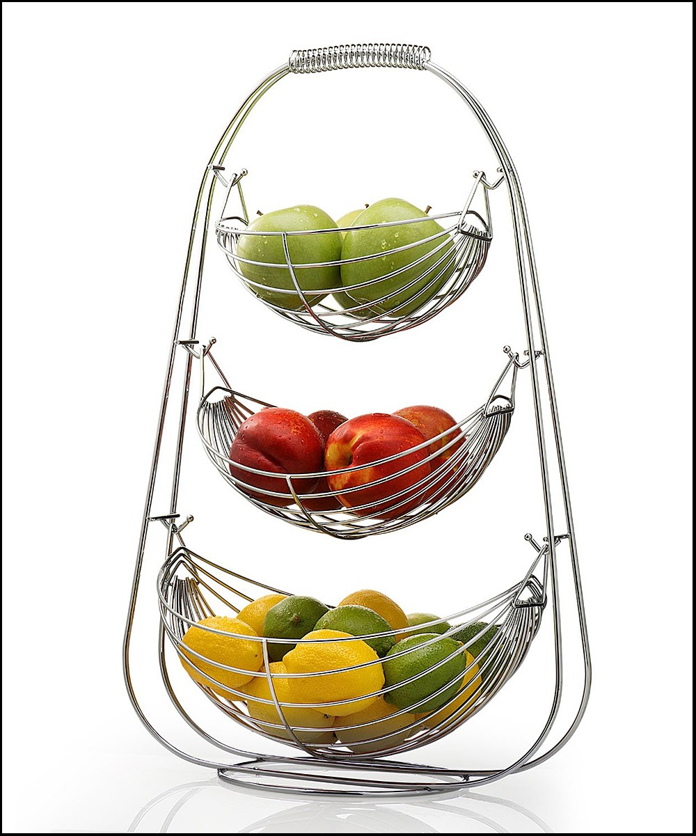 Thích mê với những mẫu kệ và giỏ đựng hoa quả cực thông minh và đẹp
