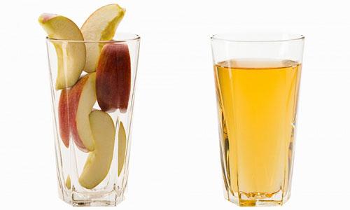 Giảm cân, chống ung thư bằng nước ép táo
