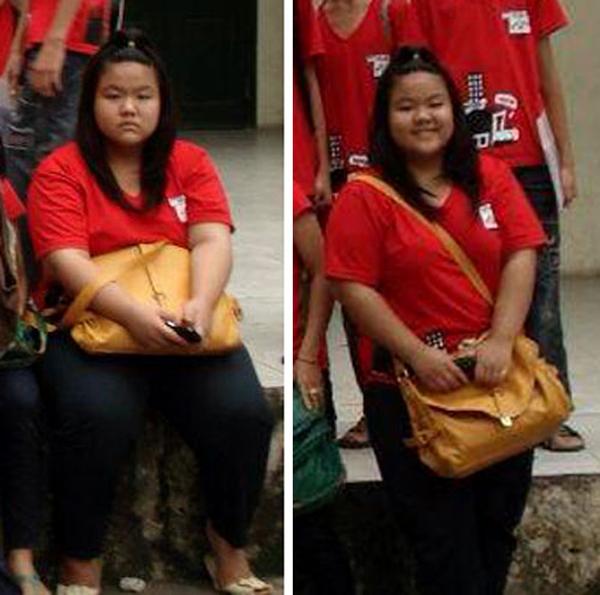 Những cô gái Việt vịt hóa thiên nga nhờ giảm cân