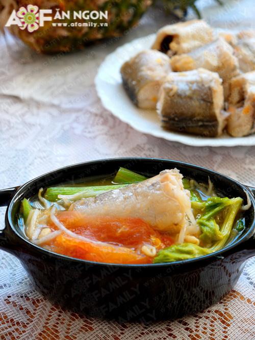 Lạ miệng với món canh cá nấu chua kiểu miền Nam