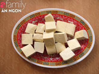 Canh đậu hũ thịt viên - ngọt mát mà giản dị