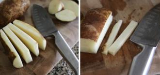 Khoai tây chiên giòn rụm thơm phức