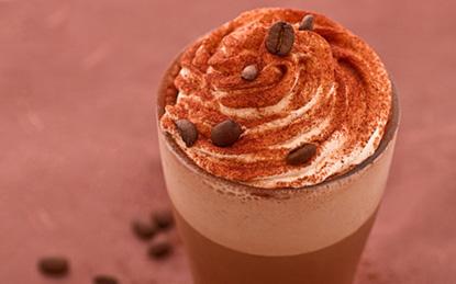 Pudding cafe hai màu ngon mắt ngon miệng
