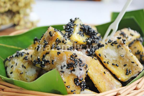 Món ăn vặt mới cực ngon từ khoai lang