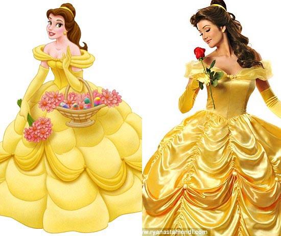 Cùng chiêm ngưỡng những hình ảnh đẹp của các nàng công chúa Disney ngoài  đời thực: