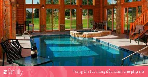 Những mẫu bể bơi trong nhà đẹp tuyệt - niềm ước ao cho những ngày nắng như đổ lửa