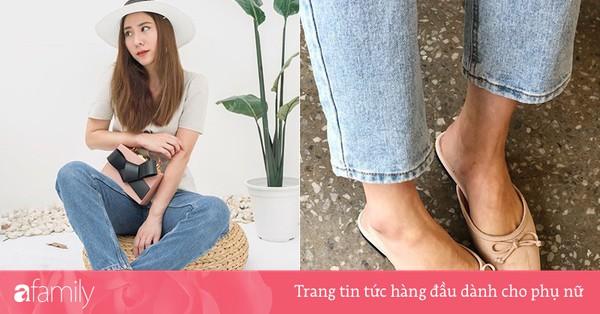 Nàng công sở nào cũng cần một đôi giày nude bởi khả năng hack dáng tuyệt đỉnh: Chân vừa dài, dáng lại thon hơn đáng kể