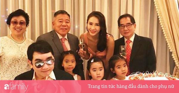''Triệu Mẫn'' Lê Tư 47 tuổi vẫn trẻ đẹp như gái 20, trong khi 3 con gái lại ''lệch sắc'' giống bố