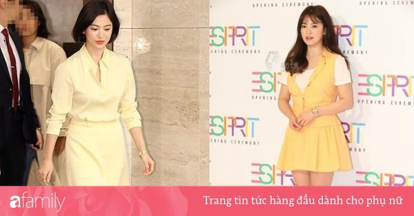 Sẽ có một ngày, Song Hye Kyo chinh phục thành công gam màu vàng chứ hiện tại thì lần nào mặc cũng mắc lỗi