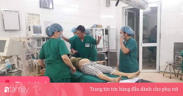 Phẫu thuật cấp cứu thành công cho bệnh nhân bị vỡ tử cung thai 18 tuần