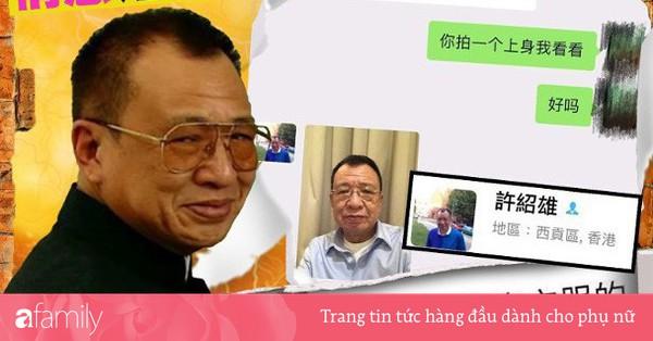 ''Vua vai phụ'' của TVB Hứa Thiệu Hùng bị nghi ngờ tham gia chat sex