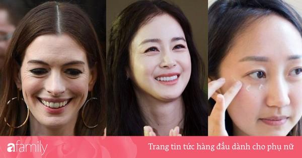 Để vùng mắt không thể bóc trần tuổi tác của bạn như với Kim Tae Hee hay Anne Hathaway, hãy ghi nhớ vài điều sau