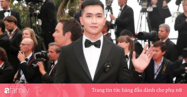 Sau Ngọc Trinh, ''tình tin đồn'' một thời của Angela Phương Trinh - Võ Cảnh điển trai trong lần đầu xuất hiện trên thảm đỏ LHP Cannes