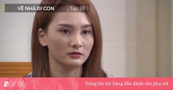''Về nhà đi con'' tập 28: Thư bật khóc thừa nhận với mẹ chồng tương lai chuyện cô yêu Vũ