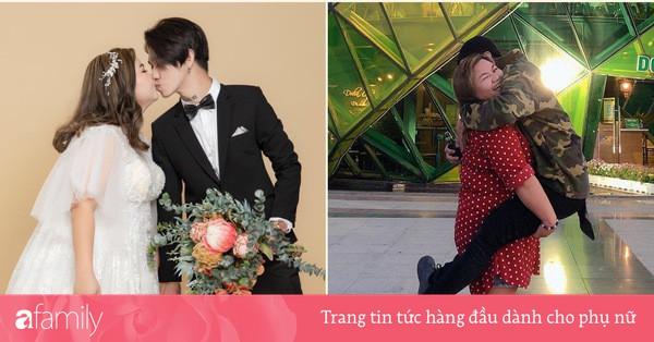 """Couple """"đũa lệch'' chồng gầy vợ béo cưới nhau sau 2 tháng hẹn hò: Cầu hôn qua video call, quyết không cho vợ giảm cân vì lý do này"""