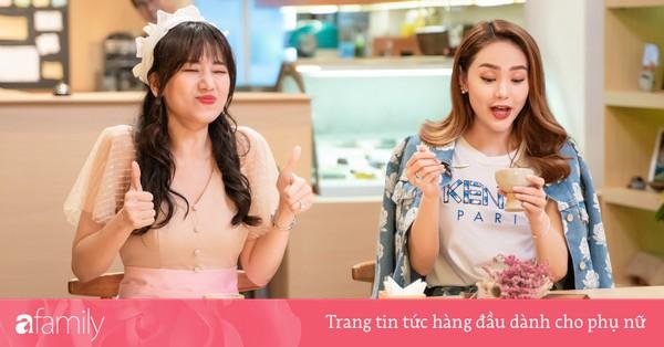 Làm nữ phục vụ xinh xắn, Hari Won bị than phiền vì thường xuyên xin ăn của đồng nghiệp