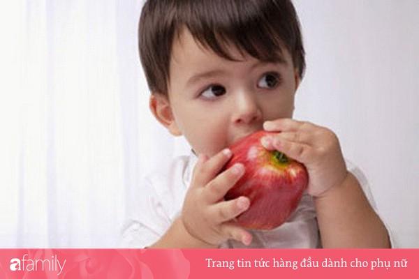 Dinh dưỡng cho bé khi mọc răng