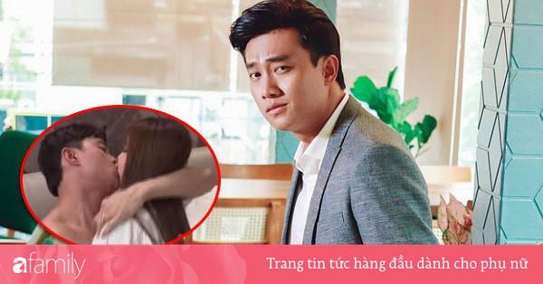 Fan ''Về nhà đi con'' chỉ trích cảnh hôn môi ''quằn quại'' của Vũ, Quốc Trường đau khổ bày tỏ thế này