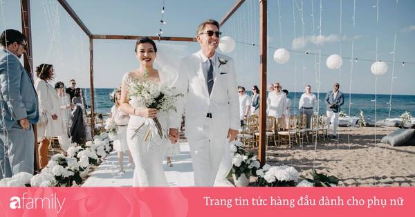 Chú rể chỉ nói ''bữa tiệc nhỏ'' mà âm thầm hô biến thành đám cưới lộng lẫy hiếm có ở đảo Cyprus, bắn pháo hoa ngợp trời vì ghi nhớ một lời thổ lộ đã lâu của cô dâu