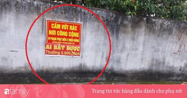 Cắm biển ''Cấm đổ rác'' không tác dụng, người dân chỉ thêm 1 dòng chữ này lại hiệu quả đến không ngờ