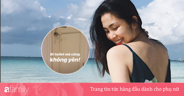 Chuyện khó tin nhưng có thật xảy ra ở nhà Tăng Thanh Hà mỗi khi ''ngọc nữ''... đi vệ sinh