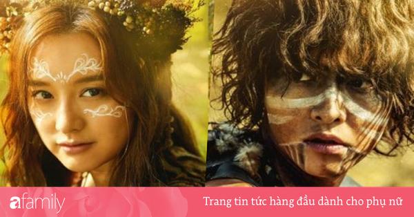 Cùng tông make up: Song Joong Ki ''vợ nhận không ra'', Kim Ji Won lấm lem bùn đất xinh hơn thời ''Hậu Duệ Mặt Trời''!