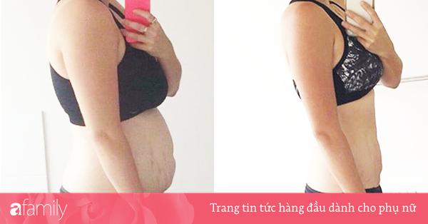 HLV ''trần tình'' cho chiếc bụng xổ sau sinh, gợi ý 5 bài tập và thực đơn có cơm trắng nhưng vẫn giúp giảm cân
