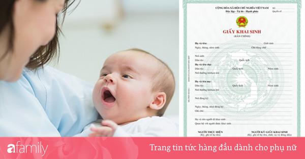 Để không bị phạt tiền vì muộn, cha mẹ hãy tham khảo thủ tục đăng ký làm giấy khai sinh online nhanh gọn này cho con