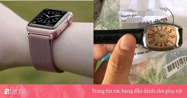 Mua Apple Watch ''sương sương'' qua mạng, cô nàng nhận về đồng hồ đứt dây, nhưng giá tiền mới là thứ khiến dân tình giật mình
