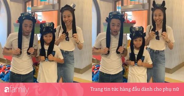Đàm Thu Trang khoe chuyến đi đầu tiên sau đám cưới, dân mạng phát hiện cô và con riêng của Cường Đô la giống nhau ''đến lạ''