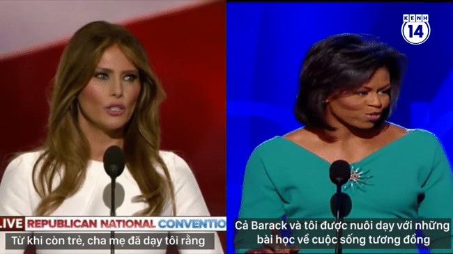 Nghe đoạn clip này bạn sẽ hiểu vì sao Melania Trump đạo văn phu nhân Michelle Obama! - Ảnh 2.