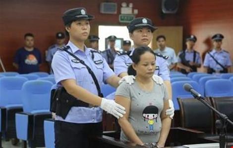 Trung Quốc tử hình nữ quái buôn trẻ em từ Việt nam