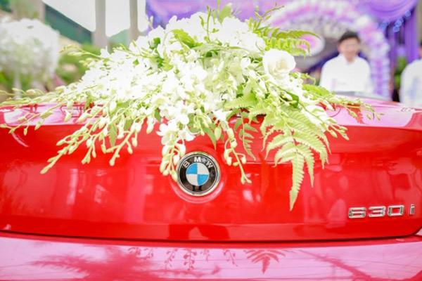 Choáng với đám cưới xa hoa, rước dâu bằng dàn ôtô gần 100 chiếc - Ảnh 5.