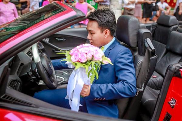 Choáng với đám cưới xa hoa, rước dâu bằng dàn ôtô gần 100 chiếc - Ảnh 6.