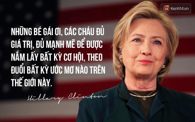 Hillary Clinton: Thất bại rất đau đớn, nhưng đừng bao giờ từ bỏ niềm tin vào việc chiến đấu cho lẽ phải - Ảnh 4.