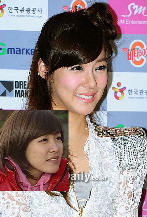 Soi da xấu-đẹp của kiều nữ Hàn khi để mặt mộc 39