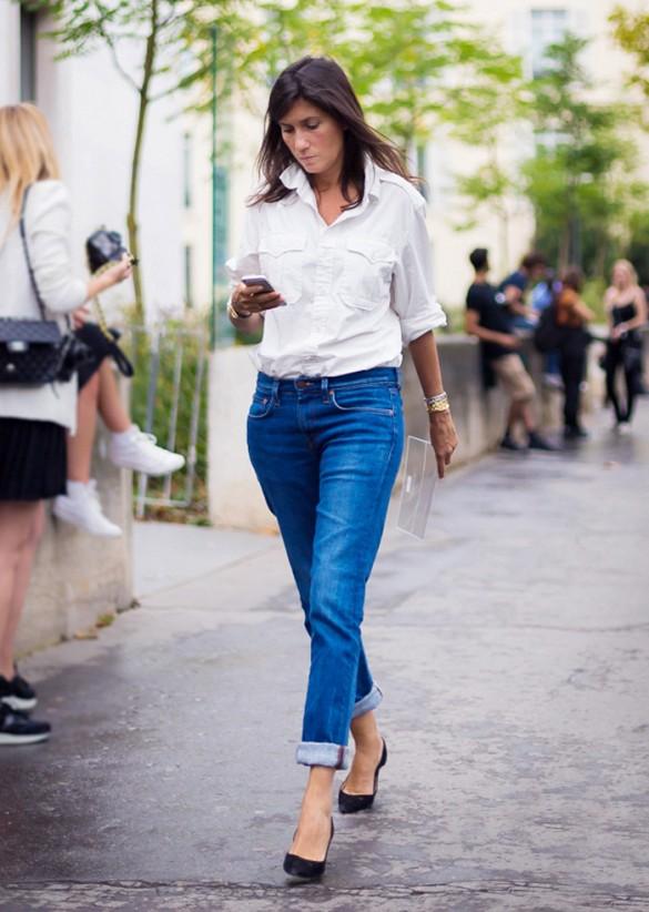 7 bí quyết giúp F5 quần jeans cho set đồ công sở 6