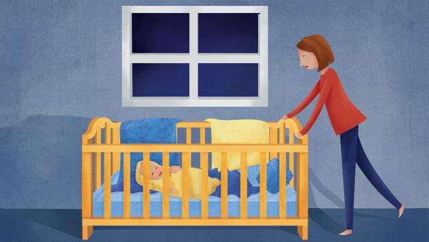 Vì sao trẻ nhỏ thường hay trằn trọc và tỉnh dậy chơi lúc nửa đêm? 2