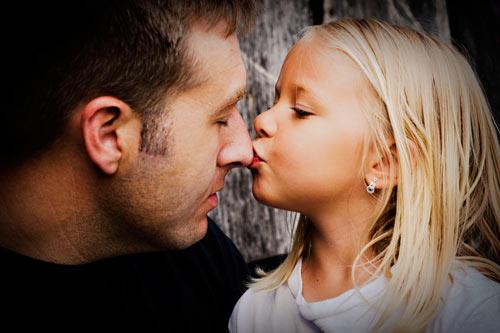 Lặng người trước những bức ảnh về tình yêu giữa bố và con gái