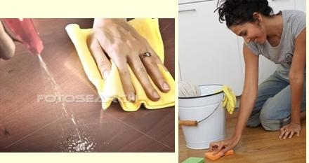 Làm sạch sàn gỗ chỉ trong nháy mắt! 5