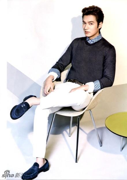 Lee Min Ho mơ ước được giống Lưu Đức Hoa 2